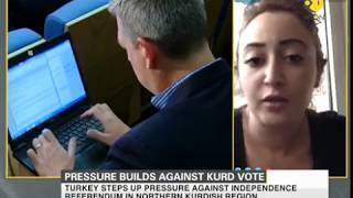 Pressure builds against Kurd vote, Turkey