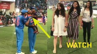 Asia Cup Final 2018 Best Moments Rohit sharma, Ritika and zorawar