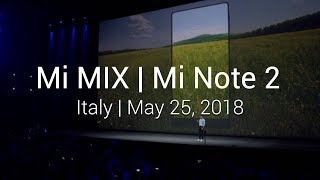 2016 Mi Product Launch - Mi Note 2 + Mi VR + Mi Mix