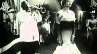 Sidney Bechet + Monique van Vooren 1955 Serie Noire - Trottoirs de Paris / Blues dans le Blues