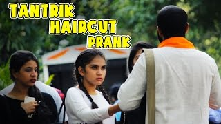 HAIRCUT Prank (Black Magic) On Girls || Shudh Desi Videos