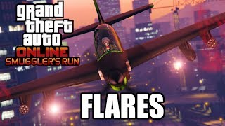 GTA Online Smuggler's Run: What's The Best Flare/Countermeasure?