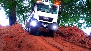 AWESOME RC TRUCK Moments! MAN! MB Arocs! Scania! ScaleART! Wedico! Tipper! Hook-lifter! Transport!