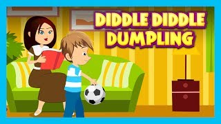 DIDDLE DIDDLE DUMPLING - NURSERY RHYMES || RHYMES AND KIDS SONG - ENGLISH POEMS FOR KIDS