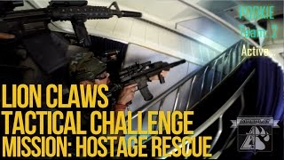 Lion Claws Tactical Challenge Milsim Airsoft Mission 1: Hostage Rescue - AirSplat on Demand