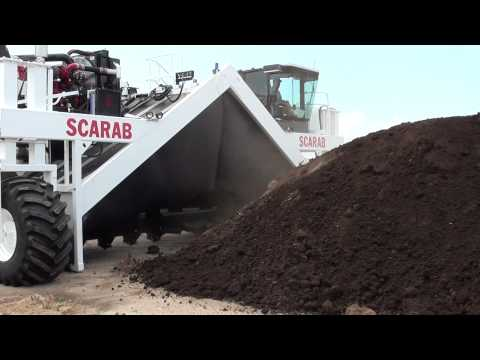 SCARAB Windrow Turner Model 24