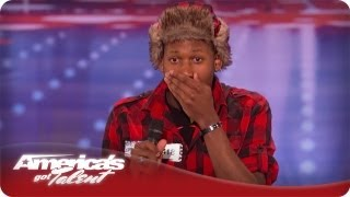 Ron Tries To Take Nick's Job As Host Of AGT - Ron Chrisopher Porter Jr Audition Season 7