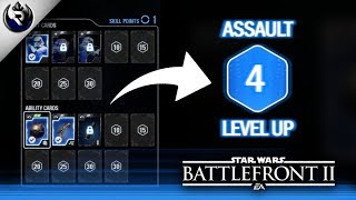 HOW TO RANK UP HEROES AND CLASSES - Star Wars Battlefront 2