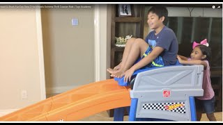 Mermaid & Shark Fun Day Step 2 Hot Wheels Extreme Thrill Coaster Ride | Toys Academy