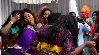 Halima Kimwana & Aunt Ezekiel wakicheza Singeli kwenye harusi ya Shamsa Ford