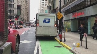 Chicago's Cyclists In Danger Biking City's 100 Miles Of Bike Lanes