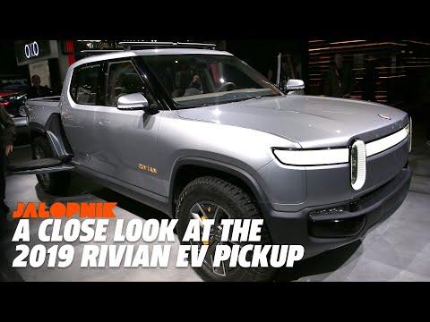 A Close Look At The 2019 Rivian EV Pickup