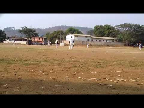 pradip raut ( ladiwali)  1st bol 1st six