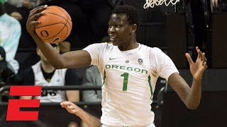 Bol Bol dominates with 23 points, 12 boards, 4 blocks in Oregon win | College Basketball Highlights