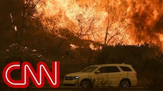 Wildfires spread in Los Angeles,  threaten homes