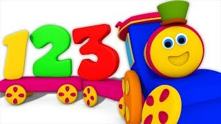 Numbers Train | Learning Videos For Children | Bob The Train Cartoons