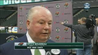 """Wild coach Bruce Boudreau: """"I believe that these guys are all winners"""""""