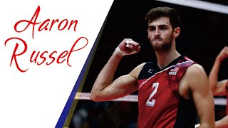 Top 25 Most Amazing Spikes by AARON RUSSEL | USA Hitter
