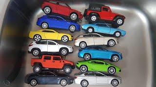 toy cars wash for kids: Dlan enjoys washing Cars video for kids