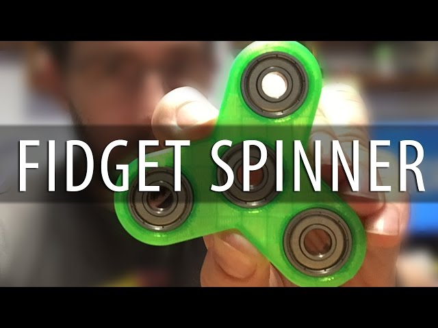 How To Make a 3D Printed Fidget Spinner using Autodsk Fusion 360 [3D Printing]