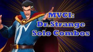 MVCI: Dr Strange Solo Combos