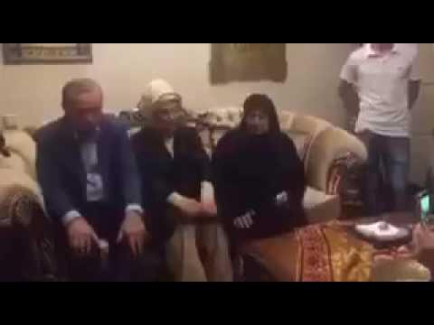 Recep Tayyip Erdoğan Şehit Cenazesinde Kuran okurken