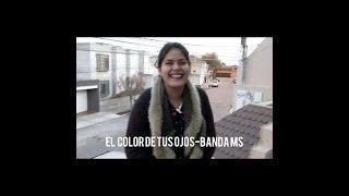 COVER/ BANDA MS/ EL COLOR DE TUS OJOS / ALISON DE LUNA