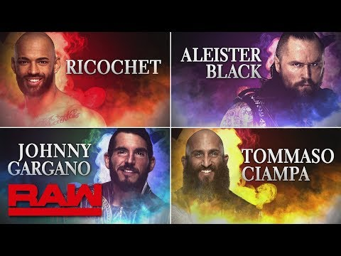 Xxx Mp4 Johnny Gargano Tommaso Ciampa Ricochet And Aleister Black Set To Debut In WWE Raw Feb 18 2019 3gp Sex