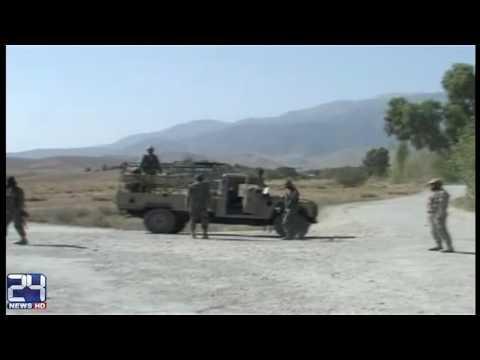 Heavy artillery delivered at Pakistan-Afghan border