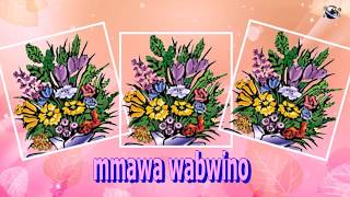 Chichewa Language Good Morning Flowers greeting  video  for  everybody everyone