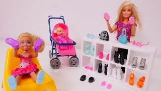 Barbie Chelsea için yeni ayakkabı almaya gidiyor