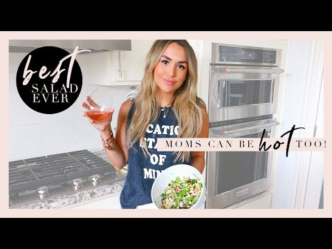 BEST SALAD FOR WEIGHT LOSS! SO GOOD & EASY!