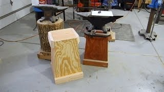 Time For a New Anvil Stand