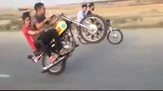 ALI JATT✔ WITH GIRLFRIEND ONE ↑ WHEELING FULL TIME ☆ GAME BIKE NEW 2016 ❥═❥ OFFICIAL SONGS HD   YouT