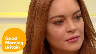 Lindsay Lohan Says Oprah Helped Her Leave Chaotic Lifestyle Behind | Good Morning Britain