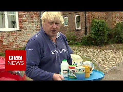 Xxx Mp4 The Former Foreign Secretary Boris Johnson Offers Tea Instead Of Answers BBC News 3gp Sex