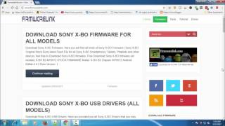 Free Download Sony X-BO Official latest Stock Firmware Rom (all Models) | Walton Flash File Download