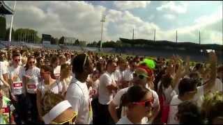 Color me rad - GoPro - Stadium Nord - Lille - France - 31 mai 2014