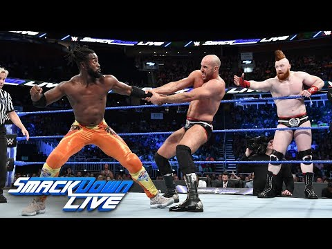 Xxx Mp4 The New Day Vs The Bar Tag Team Tournament Finals SmackDown LIVE Aug 7 2018 3gp Sex