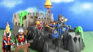 Playmobil Ritter Film deutsch: Ritter Bastion (Ritterburg) Knights deutsch aufbau & Review deutsch