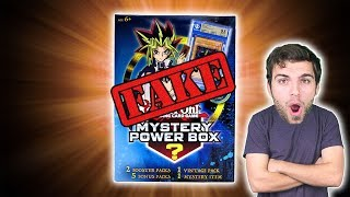 EPIC YuGiOh FAKE Card Mystery Box Opening! #MMM