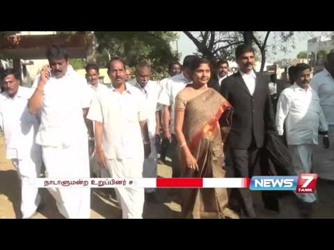 Xxx Mp4 V Sathyabama Set Free From 2011 Elections Case News7 Tamil 3gp Sex