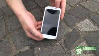 تجربه تحمل سقوط-ايفون5 VS جالكسي اس 3