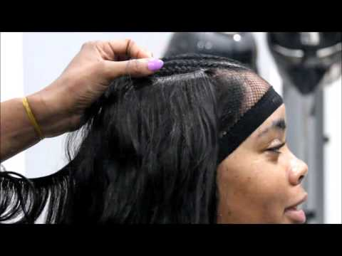 Help KokoStar braid up and sew in this long bob.