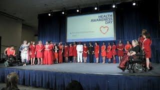 2018 Red Dress Fashion Show