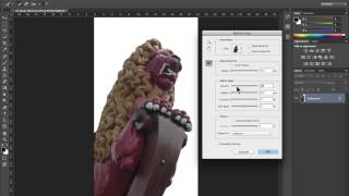 Photoshop cc: Removing a background in an image