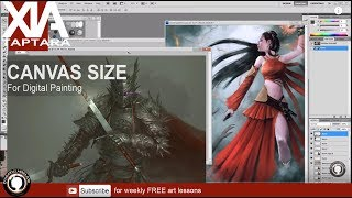 Canvas size what ratio to use in Digital art