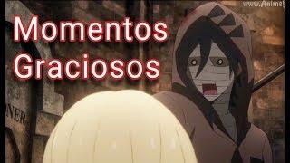 Satsuriku no Tenshi Momentos Graciosos