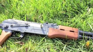 تجربة سلاح الخرز AK47 لن تصدق انه ليس حقيقي