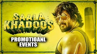 Saala Khadoos (2016) Movie Promotional Events | R. Madhwan, Ritika Singh, Mumtaz Sorcar